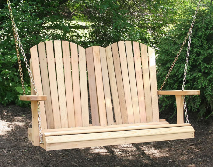 Cedar Porch Swings And Gliders Pictures To Pin On Pinterest