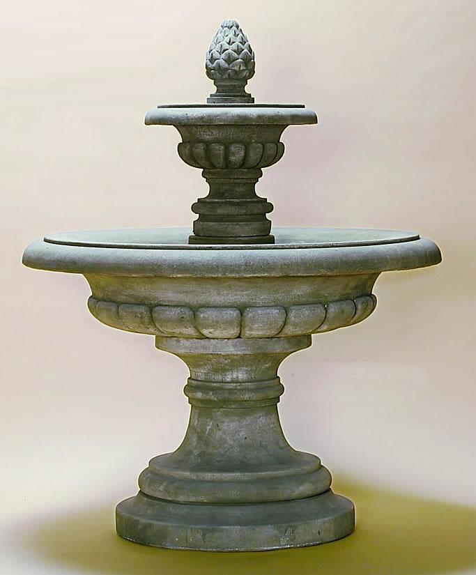 Fontana Grande Outdoor Concrete Water Fountain