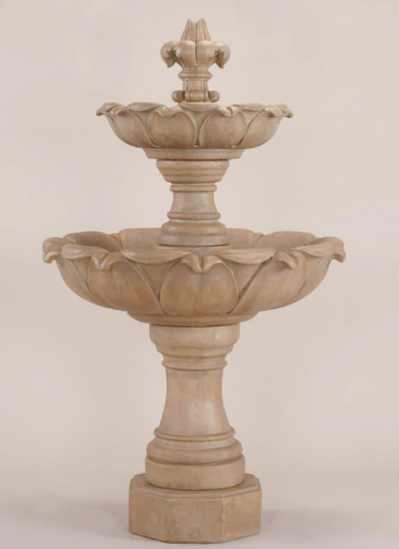 Gardenia 2 Tier Outdoor Water Fountain