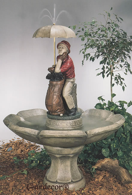 Replacement Parts For Golfer Water Fountain Large