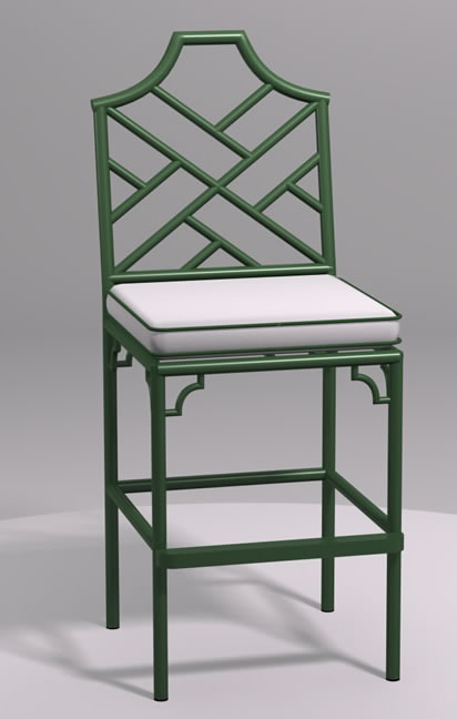 Chinese Chippendale Counter Stool Chippendale Furniture